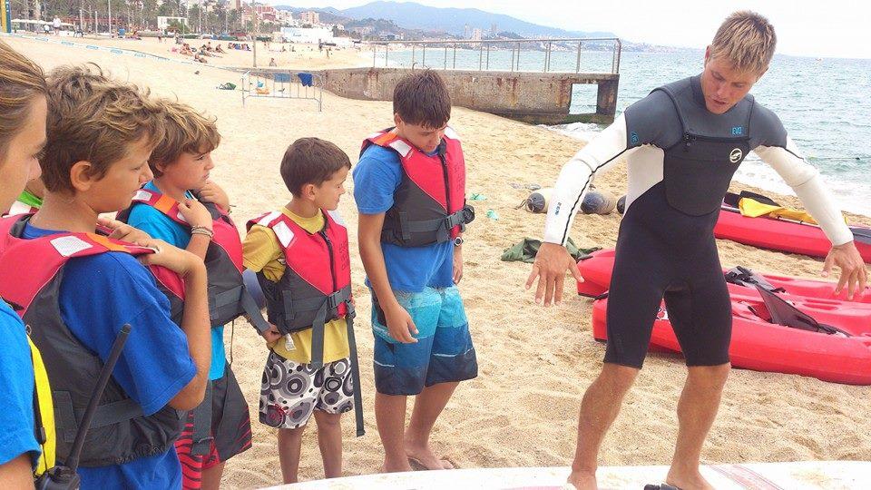 clínic de windsurf setembre 2014