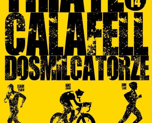Cartel triatló Calafell´14