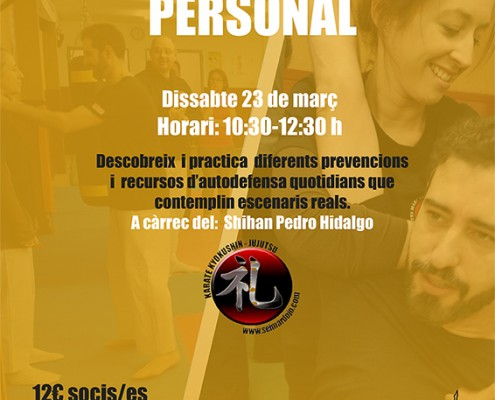 Poster Defensa Personal
